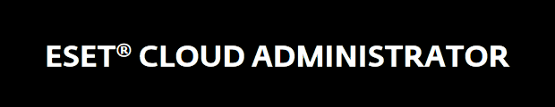 ESET Cloud Administrator