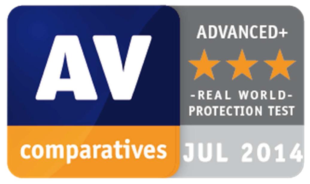 nagroda advanced+ dla ESET w najnowszych testach AV-comparatives