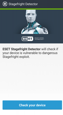 ESET Stagefright Detector
