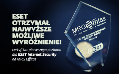 nagroda dla ESET Internet Security