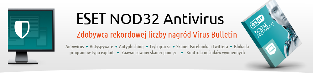 Antywirus ESET NOD32 Antivirus