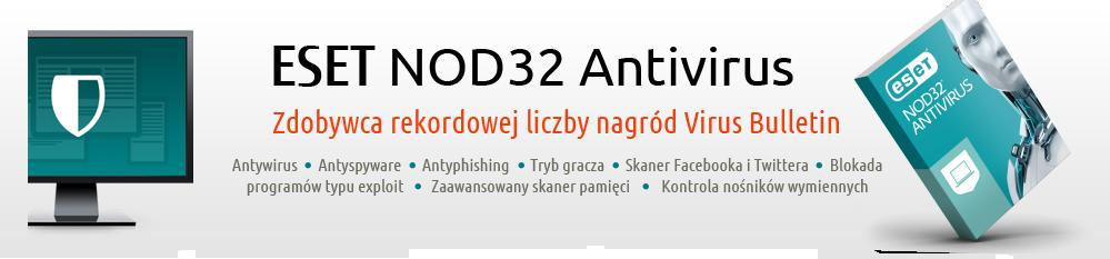Antywirus ESET NOD32 Antivirus